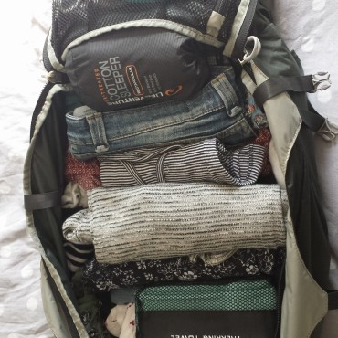 A years worth in one bag