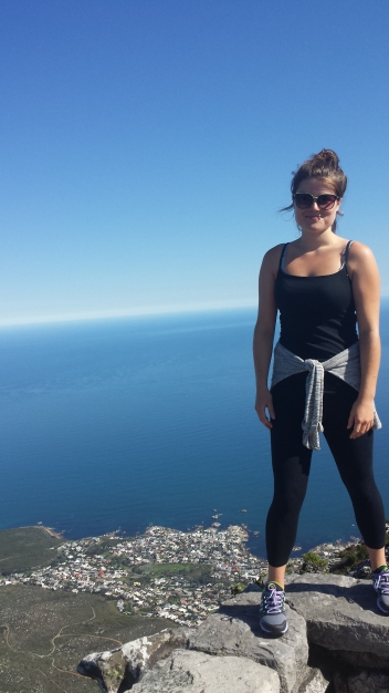 On top of the world - Table Mountain hike
