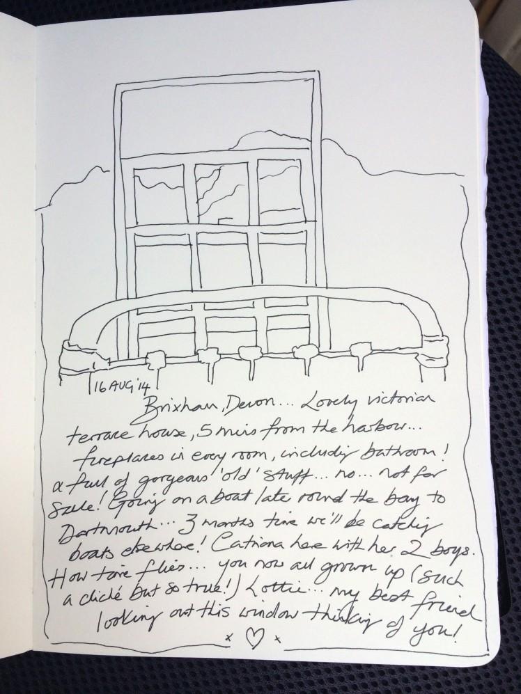 brixham writing