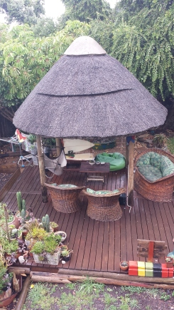Chill out shack at Ubuntu