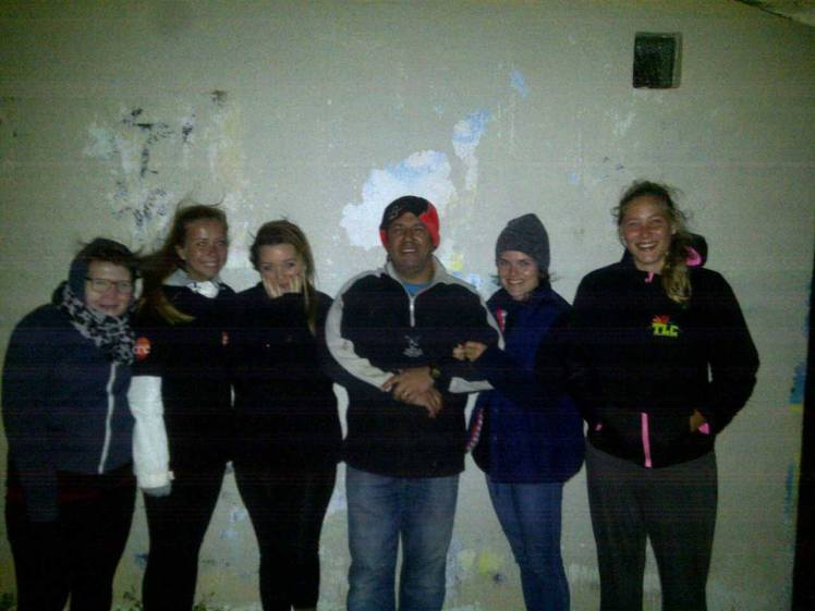 Street ministry - Girls with Uncle Bruce