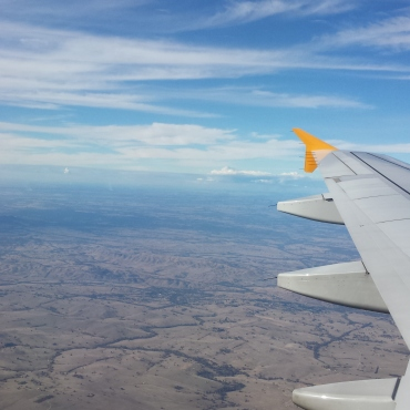 The outback from up above