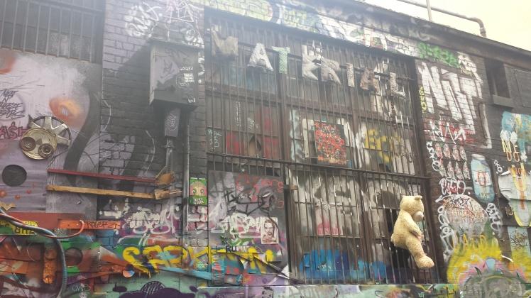 Hosier Lane - street art