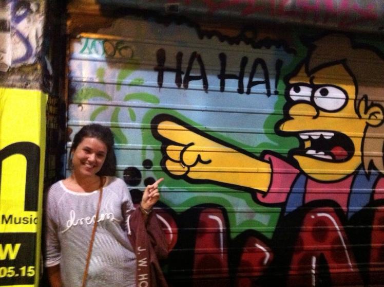 Melbournes street art