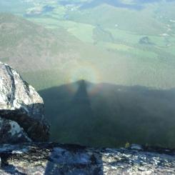 Rainbow halo