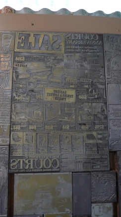 What they used to create a newspaper
