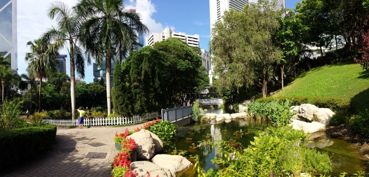 Beautiful parks in central