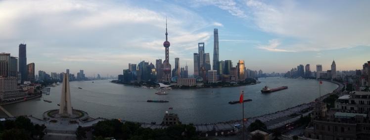 Shanghai's wicked skyline