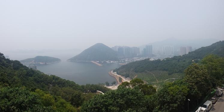 Smoggy HGK from Ocean Park