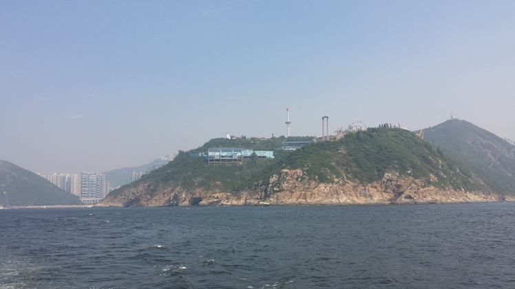 Ocean Park located amongst the hills