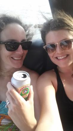 Kristen and I