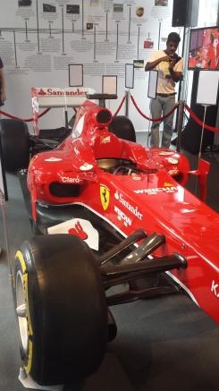 Vettels' Ferrari