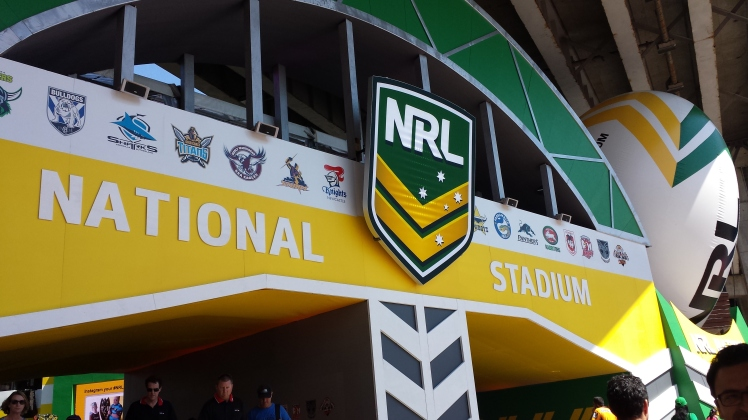 Darling Harbour - NRL finals