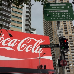 Second largest Coke billboard in the world!