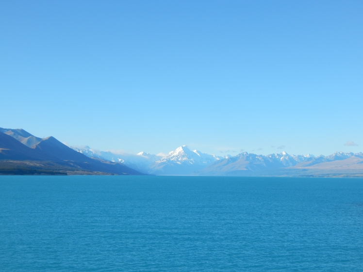 Finally spotted Mount Cook