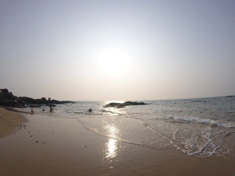 Beautiful Anjuna beach