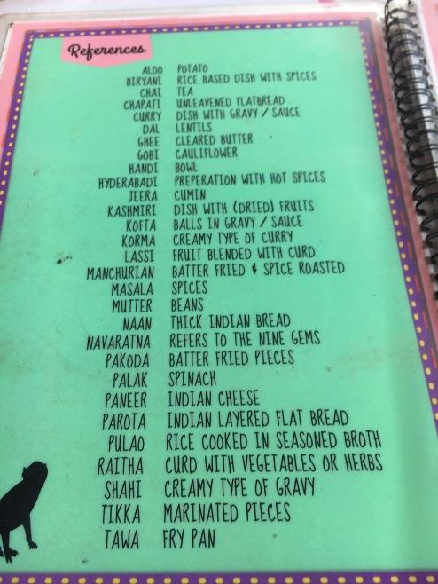 Lifesaver menu!
